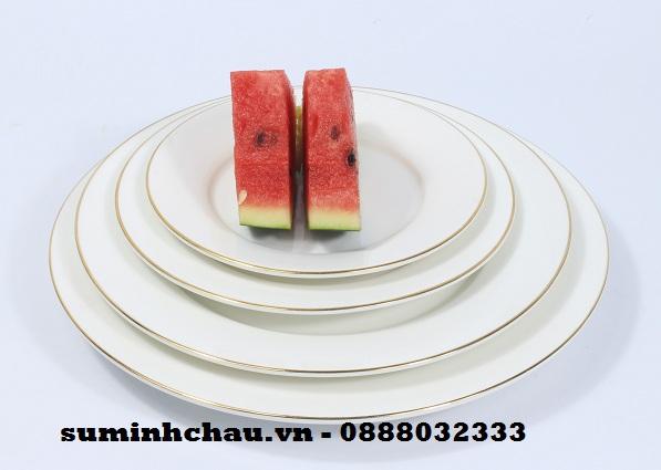 Bát đĩa cho nhà hàng sứ Minh Châu