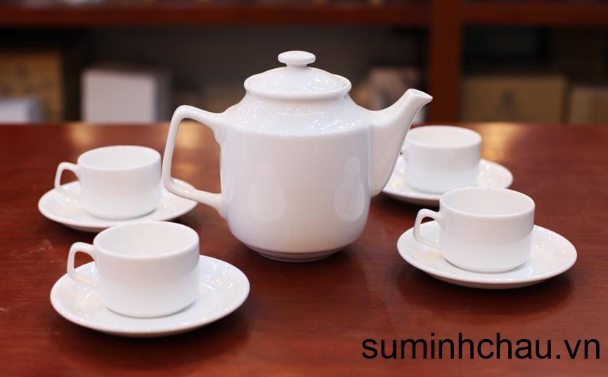 mua ấm bình trà sứ trắng ở đâu tại đà nẵng
