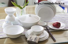Đại lý cung cấp bát đĩa tô chén sứ tại Phan Thiết