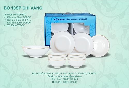 Bát đĩa nhà hàng giá rẻ tại Lâm Đồng 3
