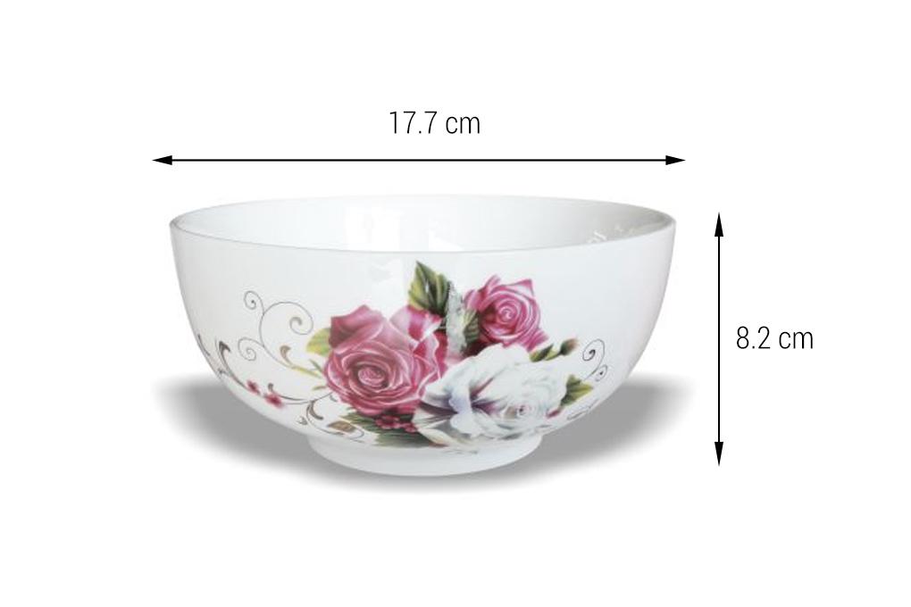 tô sứ Minh Châu hoa kiểu Hàn Quốc TH07H08 1