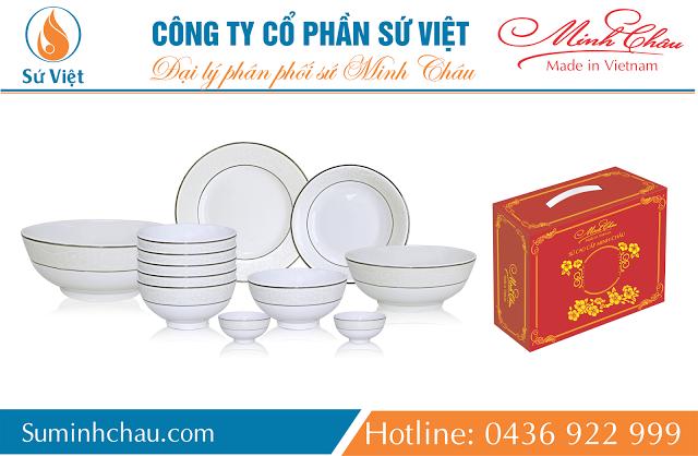Sứ sương Minh Châu và những nét nổi bật về chất liệu, kiểu dáng và giá thành