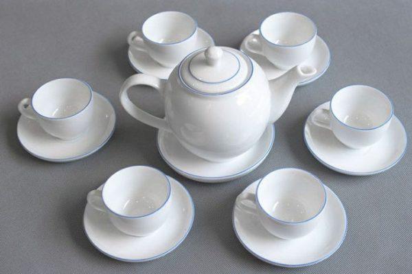 Nhận sản xuất gốm sứ bộ quà tặng in logo cho các doanh nghiệp