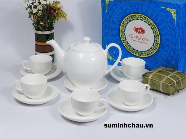 Xưởng nhận sản xuất bộ tách trà gốm sứ cao cấp giá rẻ uy tín