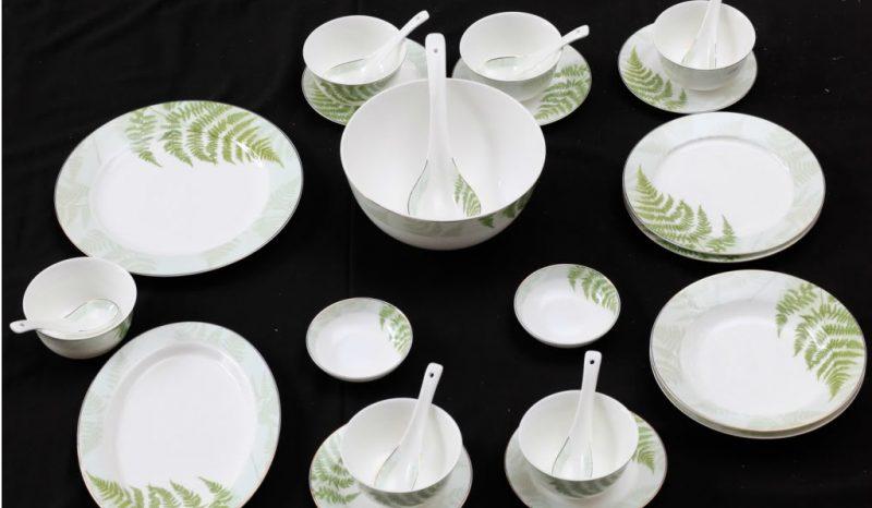 Tìm hiểu về giá tiền bát đĩa sứ trắng tại cơ sở sản xuất chất lượng uy tín